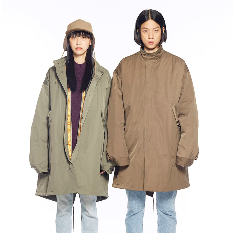 INFORMAL FISHTAIL PARKA-not ARMY