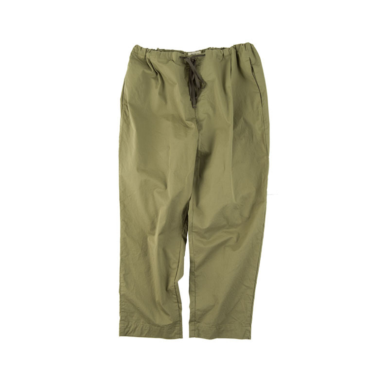 STRING DRAPE PANTS (OLIVE)