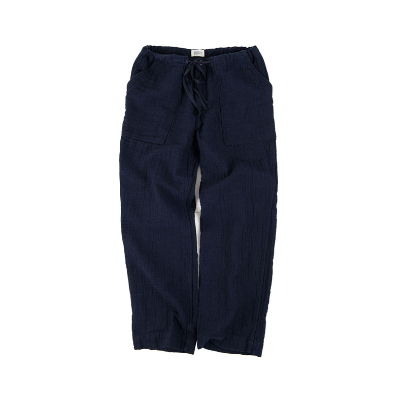 D/F INDIGO FATIGUE PANTS